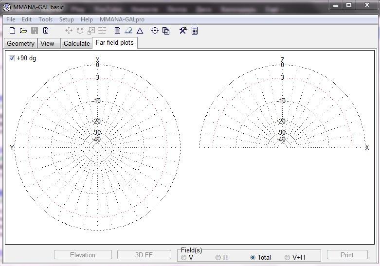 Программа расчета антенн MMANA-GAL Basic.