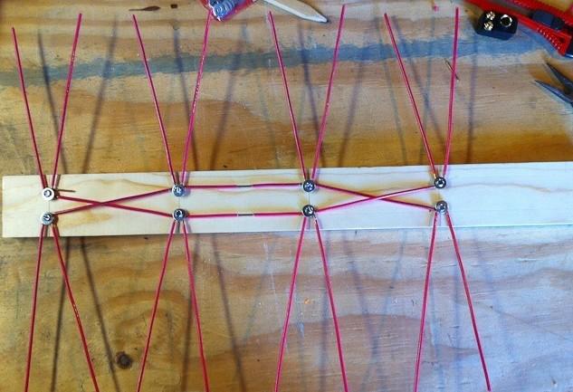 как добавлять ячейки в вязании сети
