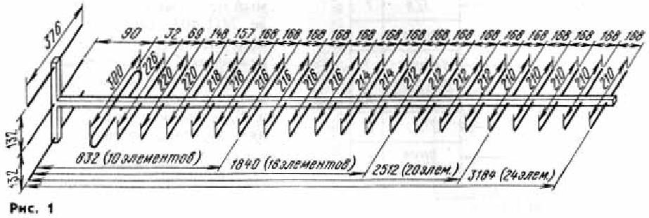 Предлагаемая антенна Шпиндлера