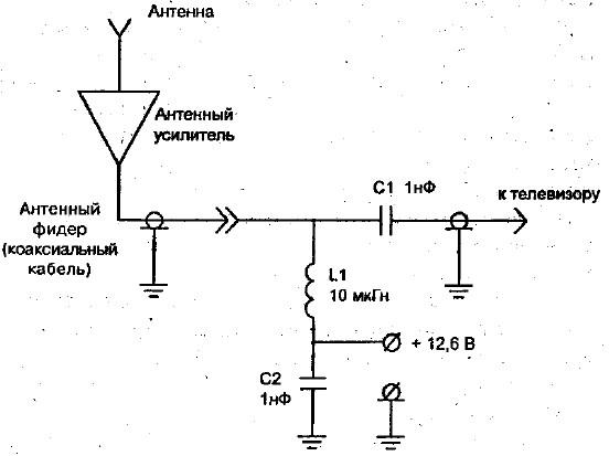 Схема развязки по питанию